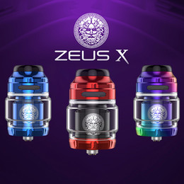 Rta coils online shopping - New Zeus X RTA ml Tank Capacity with Single Dual Coil Build Deck mm RTA Atomizer top to side airflow leakproof condition
