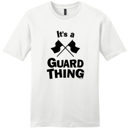 $enCountryForm.capitalKeyWord Australia - Shirt Sale Printing Machine O-Neck Short Sleeve Color Guard Flags Colorguard It'S A Guard Thing T Shirts For Men