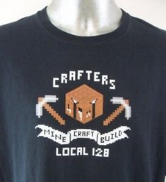 $enCountryForm.capitalKeyWord Australia - Harajuku Crafters Build Local 128 Think Geek 4XL T Shirt Video Game EUC