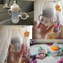 $enCountryForm.capitalKeyWord Australia - 2018 Newest Hot Bottle Grip Handle for Avent Natural Wide Mouth PP Glass Baby Feeding
