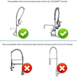 $enCountryForm.capitalKeyWord Australia - Freeshipping Pre-Rinse Sprayer Commercial Faucet Pull-Out Kitchen Hand Shower Head Dishwasher Pre-Rinse Floor Washer High Pressure Wat