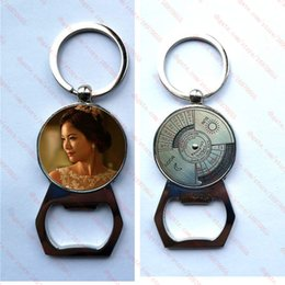 $enCountryForm.capitalKeyWord Australia - new arrival sublimation blank perpetual calendar metal keychains bottle opener function key ring hot transfer printing custom consumables