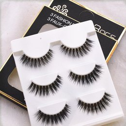 $enCountryForm.capitalKeyWord Australia - KANBUDER False Eyelashes 3D Dense Eye Tail Lengthening Multi Layer Soft Stem With Pure Artificial Eyelash Natural Dropship 0523