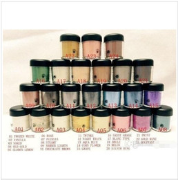 eyeshadow english names Canada - NEW 7.5g pigment Eyeshadow  Mineralize Eye shadow With English Colors Name 24 colors random send color)