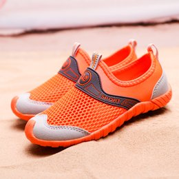 $enCountryForm.capitalKeyWord Australia - Children summer running shoes kids mesh breathable sports sneakers big boys slip-on cut-out sneakers kids beach shoes sandals