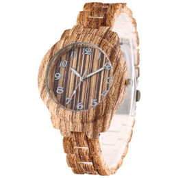 $enCountryForm.capitalKeyWord UK - 2019 retro vintage Wood grain pattern unisex mens women plastic bands simple watches fashion ladies students casual quartz watch