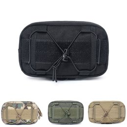 $enCountryForm.capitalKeyWord Australia - Outdoor Traveling Survive Gear First Aid Pouch Outdoor Belt Bags Tactical Cellphone Waist Bag EDC Tools Nylon Bag Pro #42507