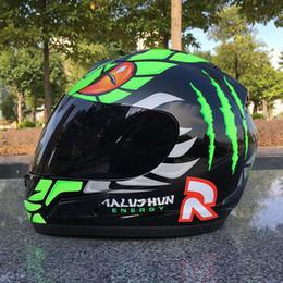 Top Motorcycle Helmets Australia - 2018 Top Brand malushun motorcycle helmet Jorge Lorenzo full face helmet motoGP racing helmet moto casco motociclistas capacete DOT