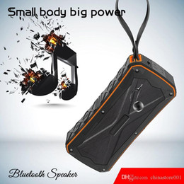 china audio speaker mp3 player Australia - S610 Bluetooth Mini speaker Wireless subwoofer MP3 Player with Double horn IP66 waterproof Outdoor portable Riding Wireless speakers