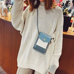 Woman Fans Australia - Pop2019 Mobile Color Hit Phone Bag Tide Original Old Woman Package All Kinds Of Fans Single Shoulder Messenger Packet