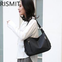 $enCountryForm.capitalKeyWord Australia - RISMIT Summer new arrival Women handbags leather bag Blue Suede leather bag Hot Sale Women Messenger Bags