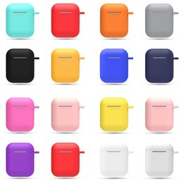 $enCountryForm.capitalKeyWord Australia - Ultra Thin Protector Case Soft Silicone Case For A^pple Airpods Shockproof Cover For A^pple AirPods Earphone Cases Storage