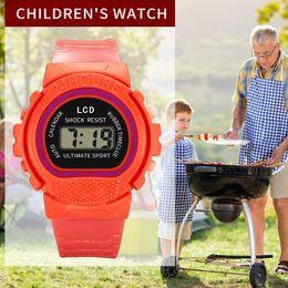 $enCountryForm.capitalKeyWord Australia - Digital Watches Children Girls Analog Digital Sport LED Electronic Waterproof Wrist Watch New Sport Watches 2019 LD