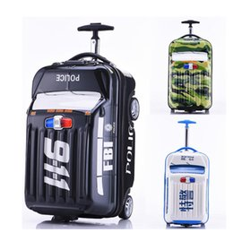 Discount luggage wheels - Carrylove 18 inch kids cute suitcase case carry on trolley car small rolling luggage on wheels