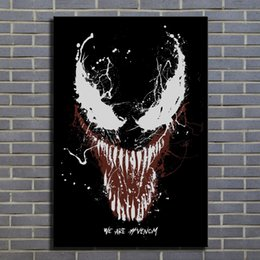 Art Canvas Prints Australia - Venom Canvas Painting Print Pictures for Living Room Home Decor Abstract Wall Art Oil Painting Poster