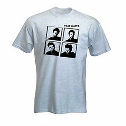 $enCountryForm.capitalKeyWord Australia - Tom Waits T-Shirt Light Grey Size S to XXL