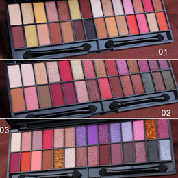 make up nude Australia - Makeup 28 Color Nude Eyeshadow Pallette Waterproof Eyeshadow Palette Lasting Make Up Brush Eye Shadow Palette Cosmetics