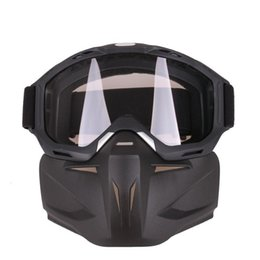 Sand motorcycleS online shopping - LumiParty Motorcycle Racing Goggles Retro Bike Off road Tactical Goggles Outdoor Sports Anti sand mask