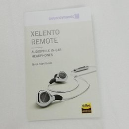 audiophile earphones Australia - Beyerdynamic XELENTO REMOTE Audiophile In-ear Headphones Quick Start Guide Headsets Wired Earphone With Retail Box