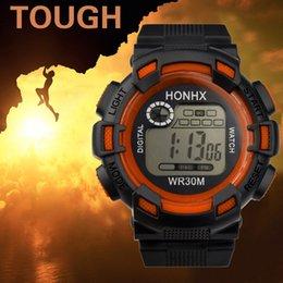 Men Digital Wrist Watches Australia - Reloj Inteligente Hombre Luxury Men Analog Digital Army Sport LED Waterproof Wrist Watch Digital Watch
