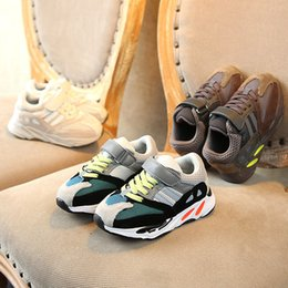 Discount toddlers sneakers shoe - Kids Shoes Baby Toddler Run Sneakers Kanye West Yez 700 Running Shoes Infant Children Boys And Girls Chaussures Pour Enf