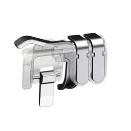 Vente en gros A8 1 paire mobile déclencheur de tir jeu mobile Six-finger Artifact L1R1 contrôleur de tir personnalisable pour PUBG règles de survie 200PARI / LOT