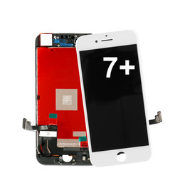 iphone black screen oem NZ - OEM Quality Black White Perfect Tested LCD Screen Display Digitizer Touch Panel Replacement For Iphone 7 plus NO DE
