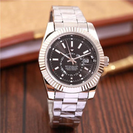 Discount brand names luxury watches men Top Brand Luxury New SKY DWELLER Name Fashion 40 mm stainless steel Mens Watch Sports Men Automatic Self-Wind Watches