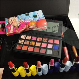 collection kylie lipstick Australia - Hello 21 Birthday collection makeup set 21st birthday kylie lipstick set Birthday kit set big box