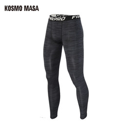 $enCountryForm.capitalKeyWord Australia - KOSMO MASA Camouflage Compression Pants Tights Men Training Pants Fitness Leggings Men Gym Quick Dry Trousers Sportswear PT004