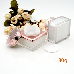 Makeup Packaging Australia - 5g 15g 30g Face Cream Pot Cosmetic Container Empty Packaging Bottle Portable Travel Refillable Makeup Tool F2437