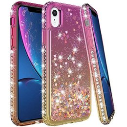 Fitted Cases Hearty Clear Floating Sparkle Flowing For Samsung Galaxy S10 Lite Glitter Bling Diamond Liquid Quicksand S10lite Case Soft Cover Stars Phone Bags & Cases