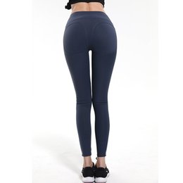 Sweat Yoga Pant Australia - High Quality Running Pants Elastic Yoga Leggings Sport Tights Anti-sweat High Waist Gym Athletic cloth #539047