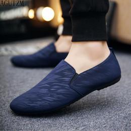 $enCountryForm.capitalKeyWord Australia - mens casual loafers shoes breathable light fabric fashion spring autumn leopard black gray blue flat cheap male shoes q120