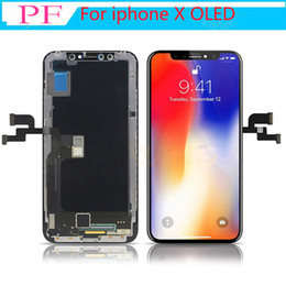 Grade A+++ OLED TFT LCD Display For iphone X 3D Touch Screen Digitizer Full Assembly Black LCD Replacement NO Dead point