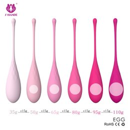 $enCountryForm.capitalKeyWord NZ - New 6pcs set Smart Kegel Ball Vaginal Balls, Vaginal Tighting Exercise Ben Wa Ball, Vibrator Sex Toys for Women