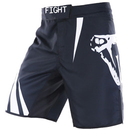 Discount mma fights shorts - 2019 Summer New Shorts Snake Printing MMA Fight Shorts Challenger Fight Muay Men Sanda High Quality Polyester