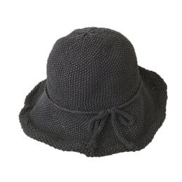 ebe74c5a548 New arrival Artistic fisherman hat for women summer leisure knitting  butterfly dome folding Stingy Brim hat