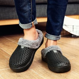 $enCountryForm.capitalKeyWord Australia - 1Men Shoes Winter Warm Fur Men Slippers Home Indoor Plush House Shoes Indoor Bedroom House Shoes Footwear Female Plush Slippers