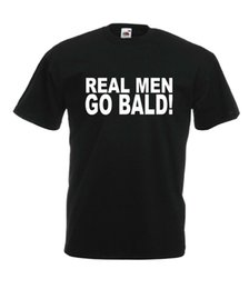 $enCountryForm.capitalKeyWord Canada - REAL MEN GO BALD fathers grandads christmas birthday gift idea mens women TSHIRT2019 hot tees Top Summer 'S fashion T Shirt cheap wholesale
