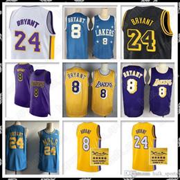 Kobe jersey 24 online shopping - Kobe Bryant kobe bryant jersey signature style retro men new HOT air basketball jerseys