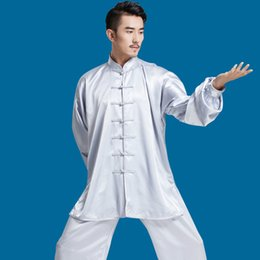$enCountryForm.capitalKeyWord Australia - Traditional Chinese Wushu Uniform Spring Summer Martial Arts Kung Fu Suits Taijiquan Practice Performance Wear Tai Chi Clothing