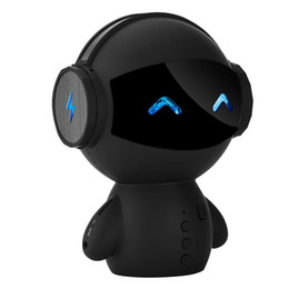 Free Calling Computer UK - Intelligent Stereo Robot Bluetooth Speaker Noise Cancelling Hands-free Call Robot Speaker Power Bank
