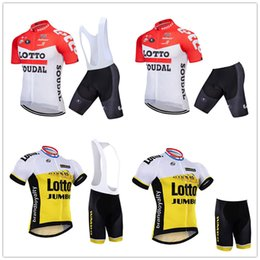 mens lycra cycling shorts Australia - 2019 lotto PRO cycling jersey (bib) shorts suit Ropa Ciclismo mens summer quick dry BICYCLING Maillot Ropa ciclismo hombre