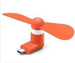 $enCountryForm.capitalKeyWord Australia - DHL 3 in 1 Portable Large Wind Mute Mini USB Type C Cooling Fan For iPhone 5 5s 5c 6 6 plus 6s 6s plus 7 8 X For Samsung Android Phone