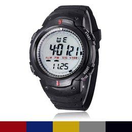 Men Digital Wrist Watches Australia - Life Waterproof Outdoor Mountaineering Sports Children's watches Men Digital LED Quartz Wrist Watch Stopwatch relogio masculino