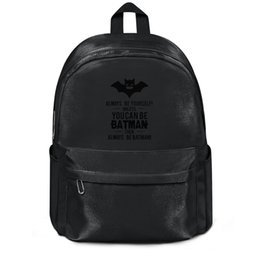 $enCountryForm.capitalKeyWord Australia - Package,backpack Superhero Batman Art Prints Poster Black White black outdoor popularpackage durable limited edition Travel Beachbackpack