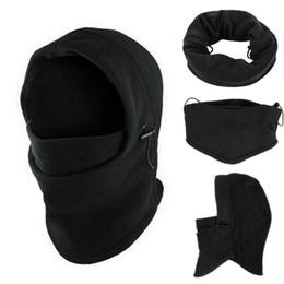$enCountryForm.capitalKeyWord Australia - 6 in1 Balaclava Hat Hooded Neck Warmer Winter Sports Face Mask for Men Ski Bike Motorcycle Helmet Beanies Masked cap