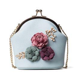 960c6c64f568 Michael Kors Handbags NZ - good quality Fashion Flowers Pu Leather Women's  Handbag Ladies Girls Shoulder
