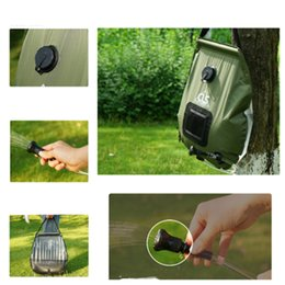 Energy Cans Australia - Solar energy bath bag outdoor self-drive camping water bag portable outdoor sun bath water storage bag Watering Equipments T2I5193